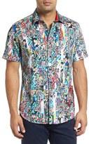 Robert Graham Men's Terraferma Classic Fit Sport Shirt