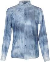 Paolo Pecora Denim shirts - Item 38619574