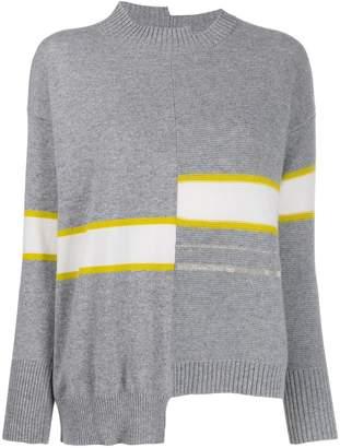 Fabiana Filippi asymmetric knit jumper