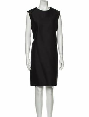 Celine Wool Knee-Length Dress Wool