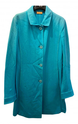 Colombo Turquoise Cashmere Coats