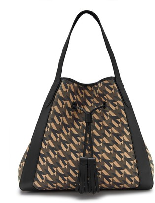Mulberry Millie Tote Black M Jacquard