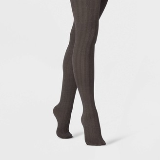 A New Day Women's Herringbone with Subtle Sparkle Tights