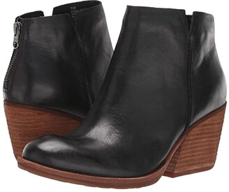 Kork-Ease Chandra (Black Full Grain Leather) Women's Boots
