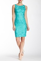 Sue Wong Embellished Sheath Dress N5113