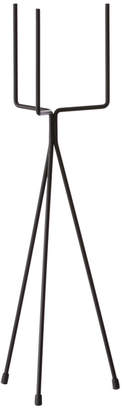 ferm LIVING Small Black Iron Plant Stand - Black