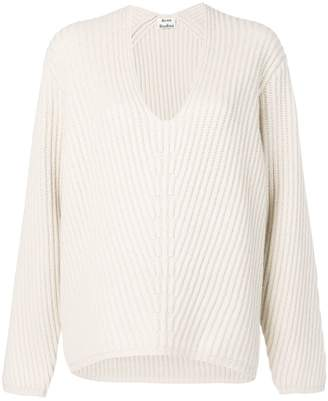 Acne Studios Deborah V-neck sweater