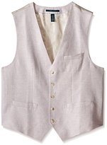 Perry Ellis Men's Big-Tall Big and Tall Linen Blend Suit Vest