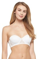 Xhilaration Women's Lace Lightly Lined Convertible Strapless Bra