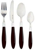 Viners Accent Cutlery Set, Black, 16-Piece
