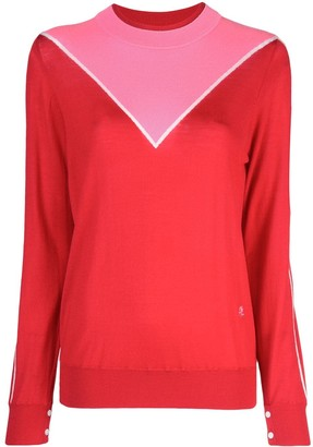 Adam Lippes Colour Block Sweater