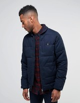 Farah Zip Thru Quilted Jacket