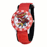 Marvel Iron Man Kids Red Nylon Strap Watch
