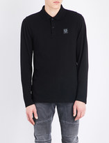 Belstaff Logo badge cotton-jersey polo shirt
