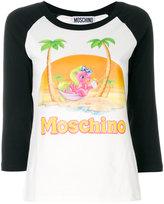 Moschino pony graphic T-shirt