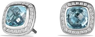 David Yurman Albion Earrings with Semiprecious Stone and Diamonds