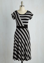 Sunny Girl PTY LLTD An Afternoon With You A-Line Dress in Grey