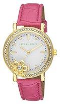 Laura Ashley Women's LA31013PK Analog Display Japanese Quartz Pink Watch