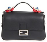 Fendi 'Double Micro' Leather Baguette - Pink