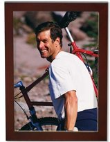 Lawrence Frames Walnut Wood Picture Frame, Gallery Collection, 5 by 7-Inch