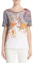 Etro Women's Floral & Paisley Print Cotton Tee