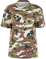 Miu Miu Camouflage Printed T-Shirt