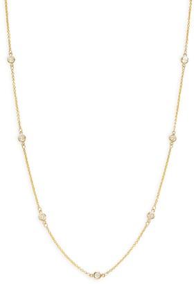 Effy Trio 14K Yellow Gold Diamond Station Necklace