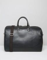 SANDQVIST Ingrid Leather Carryall In Black