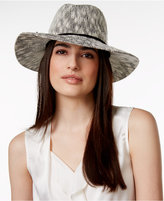Collection XIIX Two Tone Slubby Knit Packable Panama Hat