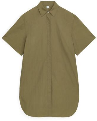 Arket Short-Sleeve Shirt Dress