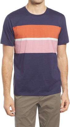 Ted Baker Frontro Colorblock Stripe T-Shirt
