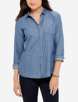 The Limited Chambray Button Down Shirt