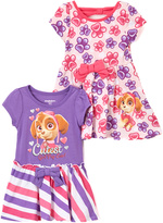 Children's Apparel Network PAW Patrol Pink Floral Dress Set - Toddler & Girls