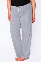 Yours Clothing Grey Marl Plain Pyjama Bottoms