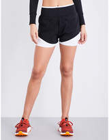 adidas by Stella McCartney Training Climachill stretch-jersey shorts