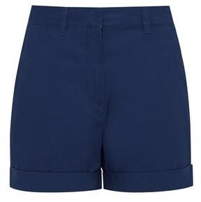 Dorothy Perkins Womens Navy Chino Shorts