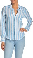 Frank And Eileen Barry Linen Long Sleeve Shirt