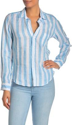 Frank And Eileen Barry Linen Long Sleeve Shirt