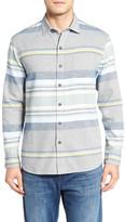 Tommy Bahama Day Breaker Standard Fit Stripe Sport Shirt