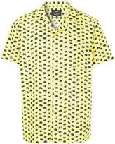 Mads Norgaard geometric print short sleeve shirt