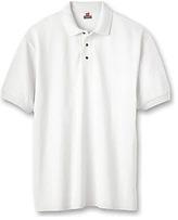 Hanes Men's Stedman Cotton Pique Polo (Set of 3)