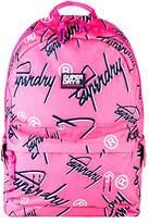 Superdry Super Crew Montana, Women's Backpack Handbag, Rosa (Fluro Pink), 30.0x45.0x13.0 cm (W x H L)