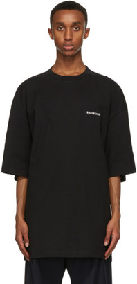 Balenciaga Black Defile XL T-Shirt