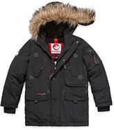 CANADA WEATHER GEAR Canada Weather Gear Heavyweight Sherpa Parka - Boys 8-20