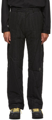A-Cold-Wall* Black Quilted Puffer Trousers