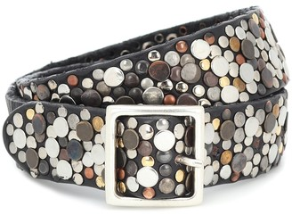 Golden Goose Exclusive to Mytheresa Studded leather belt