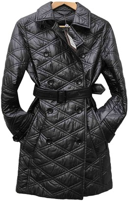 Louis Vuitton Black Trench Coat for Women