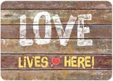"Bungalow Flooring Love Lives Here Comfort Mat - 22"" x 31"""