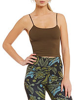 Free People FP Movement Tighten Up Scoop Neck Solid Cropped Tank