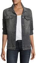 Rails Knox Stars Button-Front Relaxed Jacket